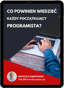 Ebook: Co powinien wiedzieć każdy początkujący programista?